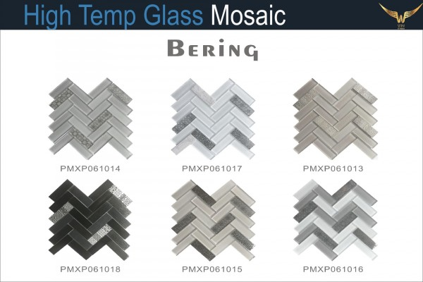 Gạch Mosaic Thủy Tinh Chịu Nhiệt BERING