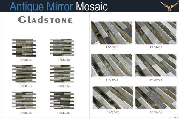 Gạch Mosaic Kính Cổ Điển Gladstone