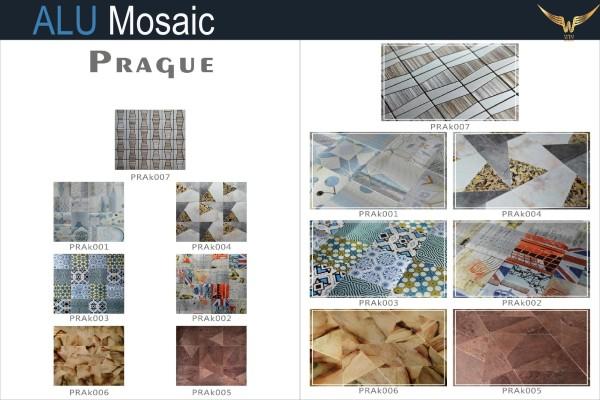 Gạch Mosaic Mặt Alu PRAQUE