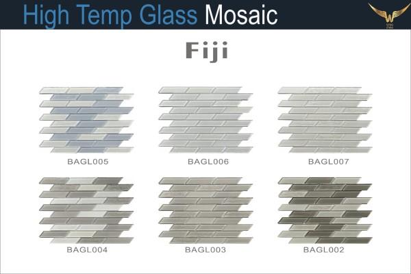 Gạch Mosaic Thủy Tinh Chịu Nhiệt FIJI