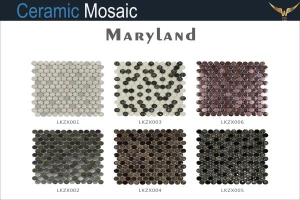 Gạch Gốm Mosaic Maryland