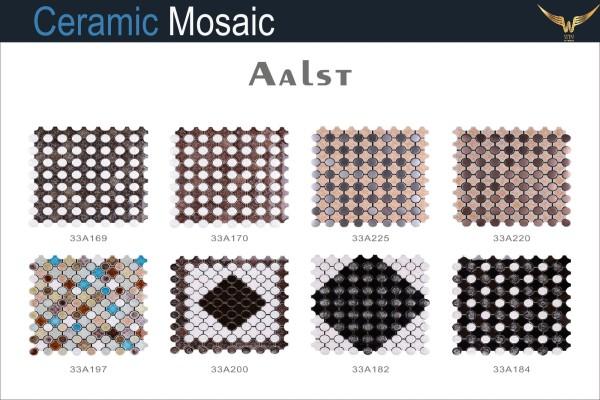 Gạch Mosaic Ceramic Aalst