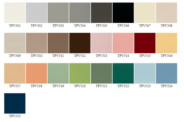 Sàn nhựa đơn sắc - TPV series