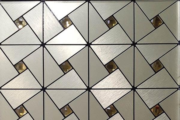 Gạch Mosaic Kim Loại WIN18-1