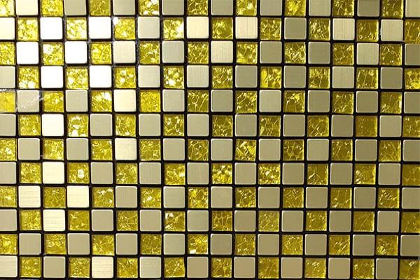 Gạch Mosaic Kim Loại WIN15-1